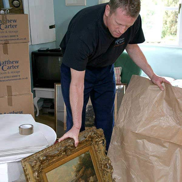 Antique packing experts
