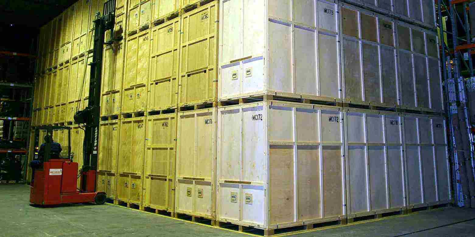 Our secure storage warehouse