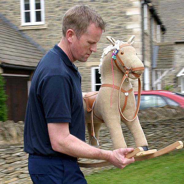 Bulky items such as rocking horses